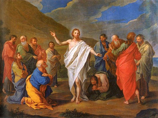 Christ and the Eleven Disciples