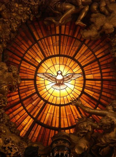 Gian Lorenzo Bernini, The Holy Spirit as a Dove,  Saint Peter's Basilica, Rome (ca. 1660)