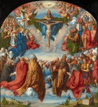 Albrecht Dürer, Adoration of the Trinity (1511)